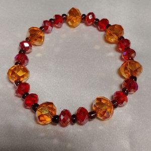 Monarch Faceted Rondelles Bracelet